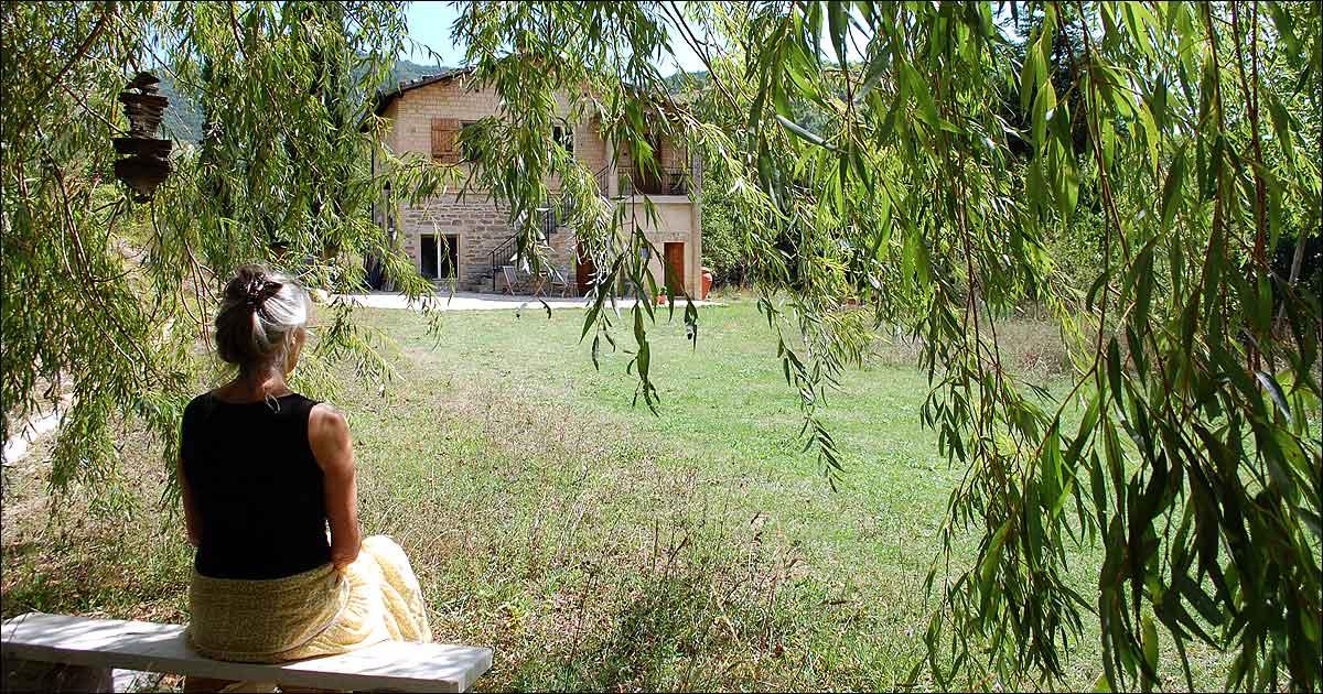 Dansk Retreat Center i Assisi, Italien