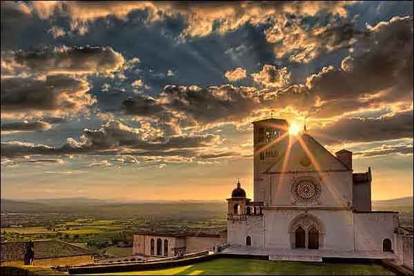 Stilhedsretreat i Assisi, Italien