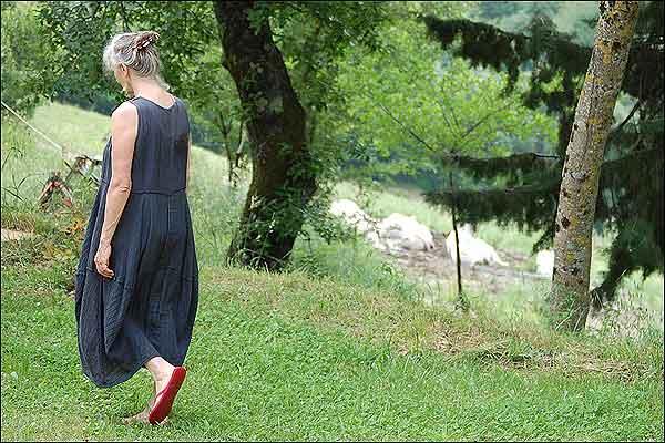 Walking during a Silent Meditation Retreat