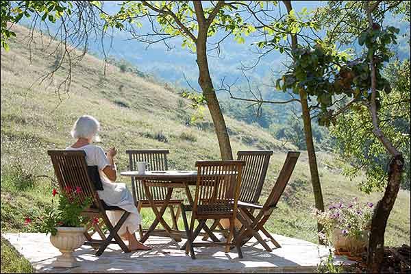 Silent Retreat Center in Assisi morning meditation