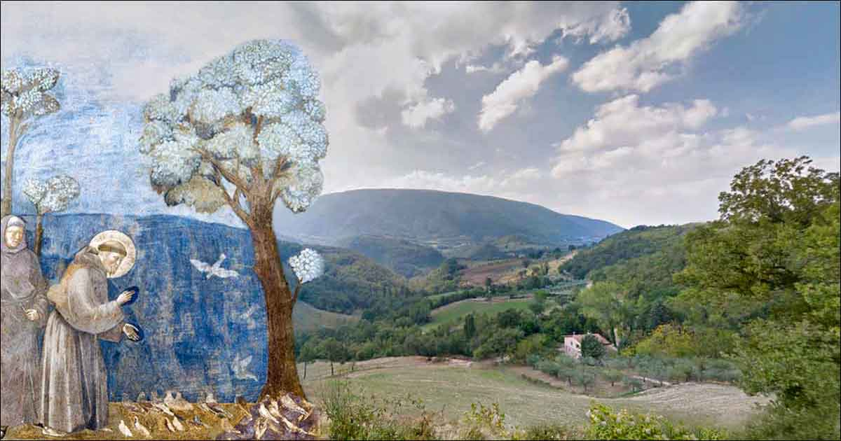 Silent Retreat Center in Assisi, Italy